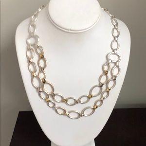 Stella & Dot multi tone necklace